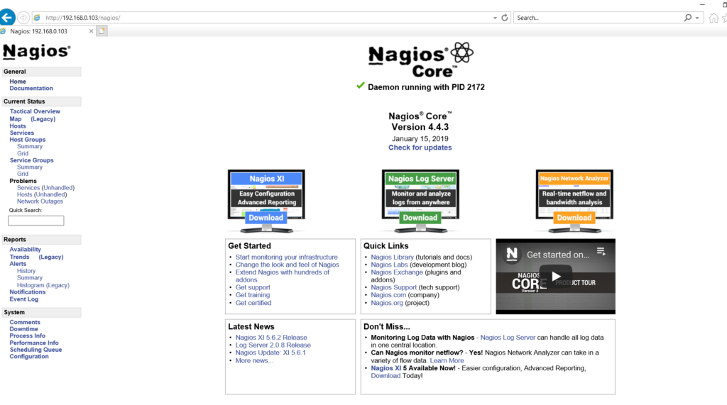 How to install Nagios Core server 4.4.3 on RHEL 6/7 & CentOS 6/7