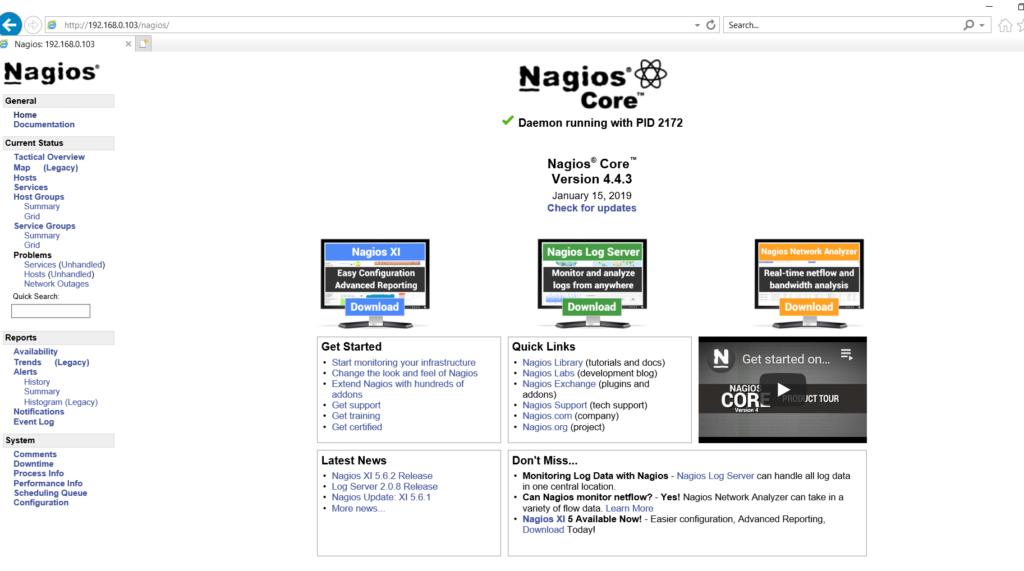 install Nagios Core server 4 4 3 RHEL 6/7 & CentOS 6/7
